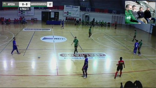 Aposa Fcd - Futsal Sangiovannese 0-8 (p.t. 0-4)