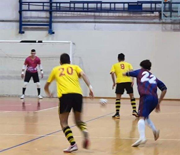 Bagnolo calcio a 5 - Aposa Fcd 4-2 (p.t. 2-0)