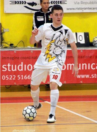 Diohan Barbieri (Bagnolo Calcio a 5) parla coi gol...e non solo
