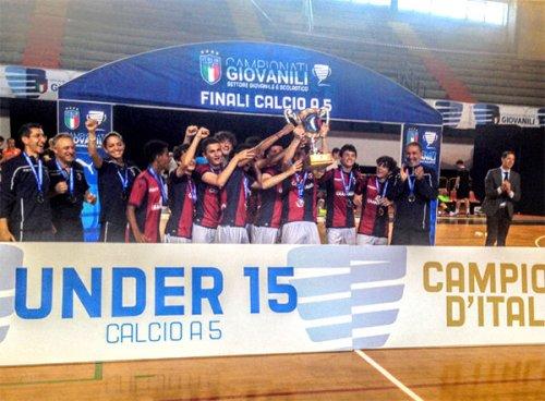 Bologna fc 1909 è campione nazionale under 15