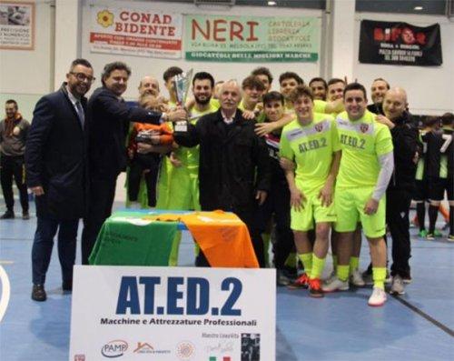 Al calcio a 5 Forli' il 1° trofeo AT.ED.2