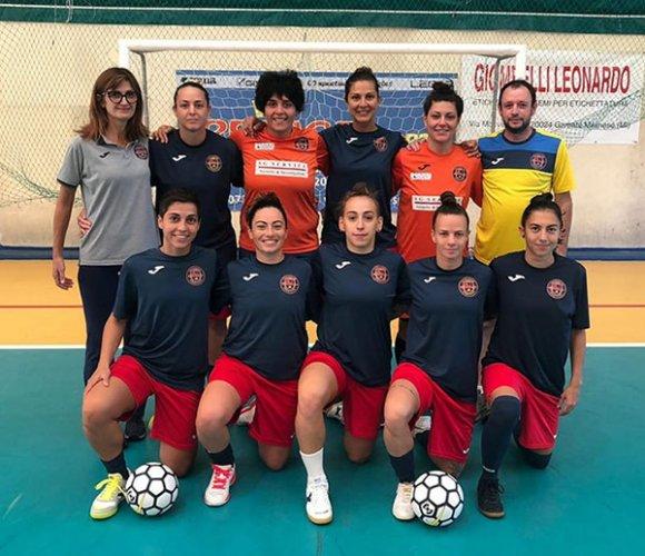 Il Civitanova dream futsal lavora in vista della prossima sfida di coppa divisione