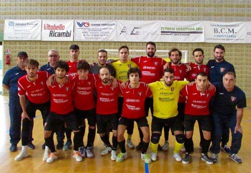 Serie B, debutto da tre punti per il Corinaldo Calcio a 5