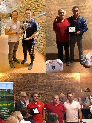 Futsal - premiazioni delle vincitrici dei campionati 2018-19