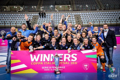 Final Eight futsal, il Falconara vince la Coppa Italia femminile