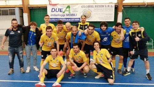 Buldog Lucrezia  vs Futsal Capurso 6-2 (2-1 p.t.)