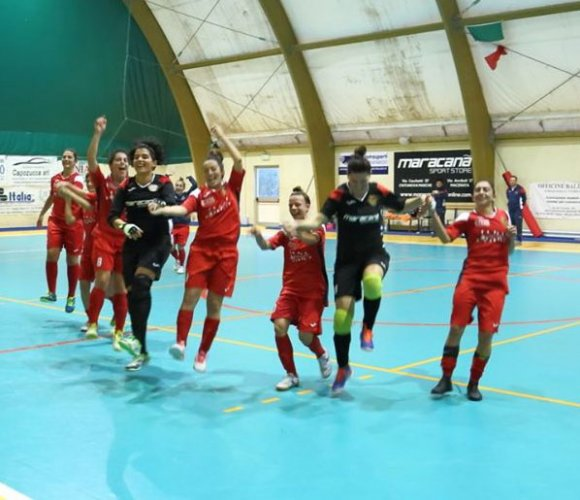 Civitanova dream futsal - sassoleone 2015 7-5 (3-1 pt)