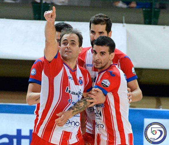 Coppa italia Futsal, è subito spettacolo: Pesaro e Napoli in semifinale