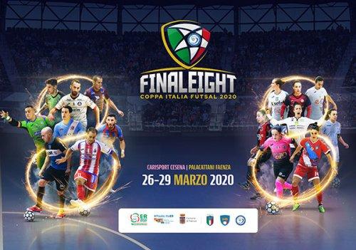 Futsal Final Eight 2020. Presentazione e sorteggio rinviati a data da destinarsi