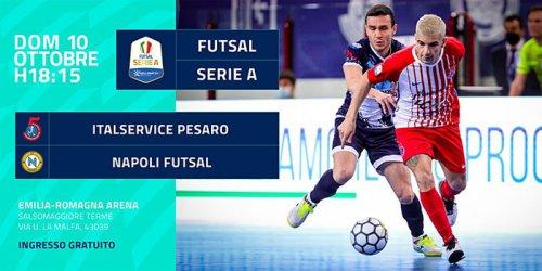 Emilia Romagna arena: la casa del futsal è a Salsomaggiore