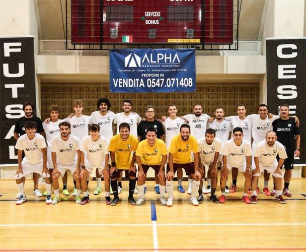 Sei impegni in quattro settimane per la Futsal Cesena