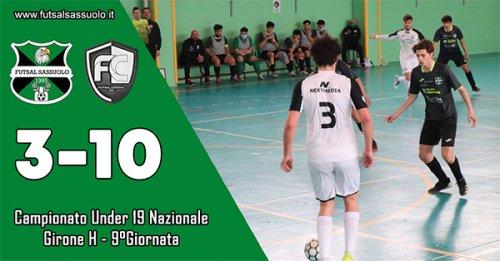 Under 19: Futsal Sassuolo – Futsal Cesena: 3-10