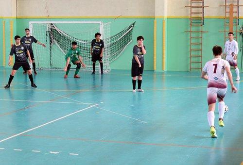 Futsal Sassuolo vs Olimpia Regium 2-13