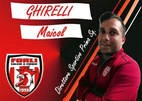 Forli' getta le basi per la nuova stagione: il DS Ghirelli rinnova