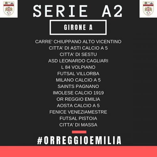 OR Reggio Emilia inserita nel girone A della prossima serie A2: si va dalle sfide in Sardegna a Piemonte e Veneto