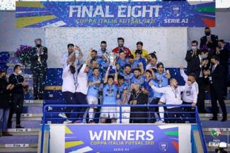 Il Napoli vince la Final eight coppa italia Serie A2 2021