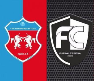 Prepartita Futsal Cesena vs Montesicuro