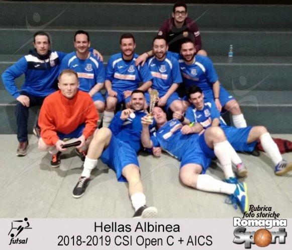 FOTO STORICHE - Hellas Albinea 2018-19