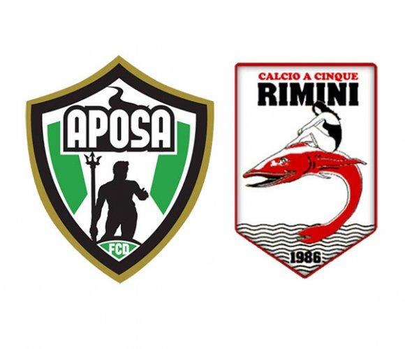 Ultima partita della stagione per il Rimini.com, in trasferta con l'Aposa