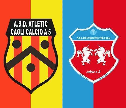 Montesicuro Tre Colli vs Cagli 3-3 (3-1 pt)