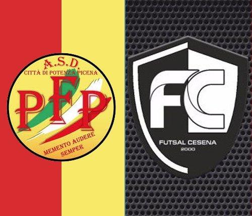 Futsal Potenza Picena-Futsal Cesena 2-2