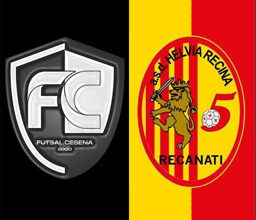 Futsal Cesena vs Recanati Calcioa a 5 4-1