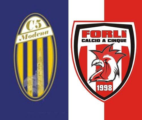 Modena C5 vs Calcio a 5 Forlì 4-3