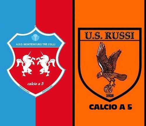 Montesicuro Tre Colli vs Russi 2-3