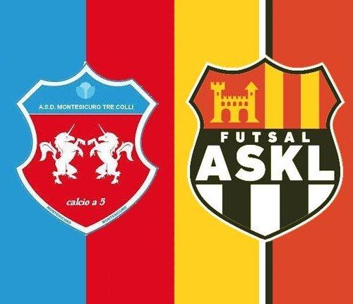 Montesicuro Tre Colli – Futsal ASKL 5-6 (4-3 pt)