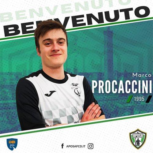 Aposa: ingaggiato Marco Procaccini