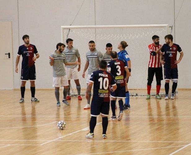 L'Imolese calcio a 5 cede al Milano