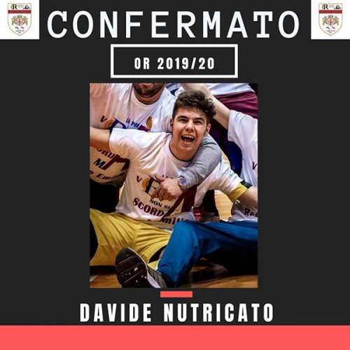 Davide Nutricato ancora all'OR