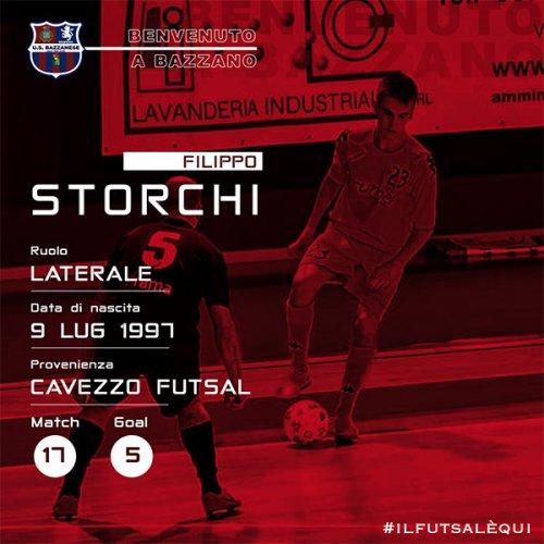 U.S. Bazzanese 1923 Calcio a 5: Arriva anche Storchi dalla serie B