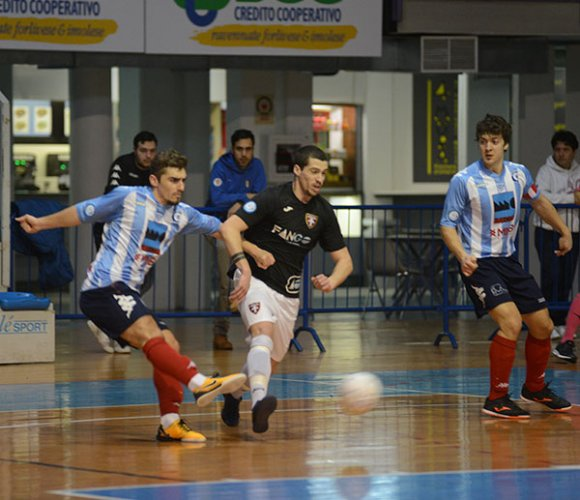 Faventia vs CUS Ancona 1-3 (Pt 0-2)