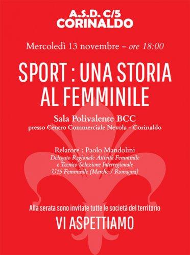 Sport: una storia al femminile