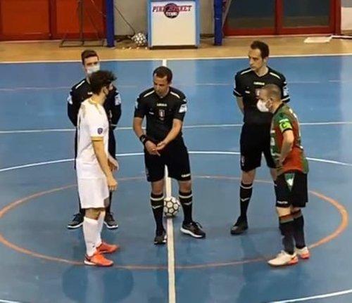 Futsal Ternana – Montesicuro Tre Colli 5-4 (2-2 pt)