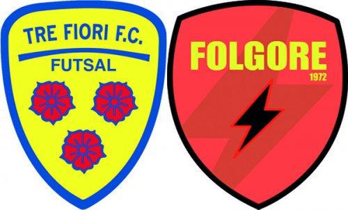 Futsal: Folgore-Tre Fiori, una è di troppo