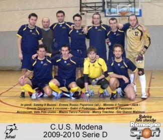 FOTO STORICHE - C.U.S. Modena 2009-10