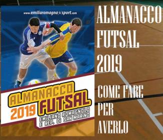E' disponibile l'Almanacco del Futsal 2019