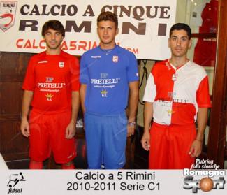 FOTO STORICHE - Calcio a 5 Rimini 2010-11