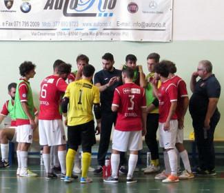 Corinaldo calcio a 5  vs  Sant'Agata Futsal 15-2 (pt 9-0)