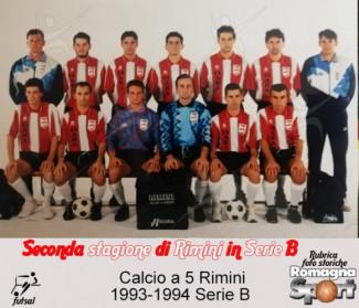FOTO STORICHE - Calcio a 5 Rimini 1993-94