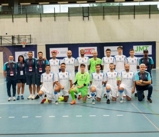 Fiorentino vicino all'impresa in Futsal Champions League