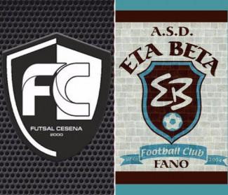 Pre partita, Eta Beta vs Futsal Cesena