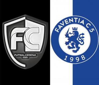 Futsal Cesena-Faventia sabato 28 novembre