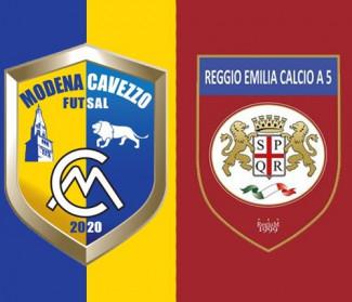 OR Reggio Emilia, rinviata la sfida col Modena Cavezzo futsal