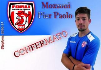 Forlì Calcio a 5: Anche Pier Paolo Mozzoni rinnova per la prossima stagione