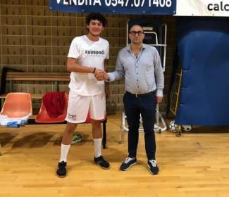 Nicolò Pieri firma per la Futsal Cesena
