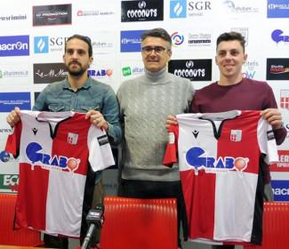 Rimni FC: Ambrosini e Remedi presentati ufficialmente