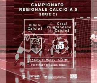 Il Calcio a 5 Rimini vuole immediatamente rialzarsi contro il Real Casalgrandese